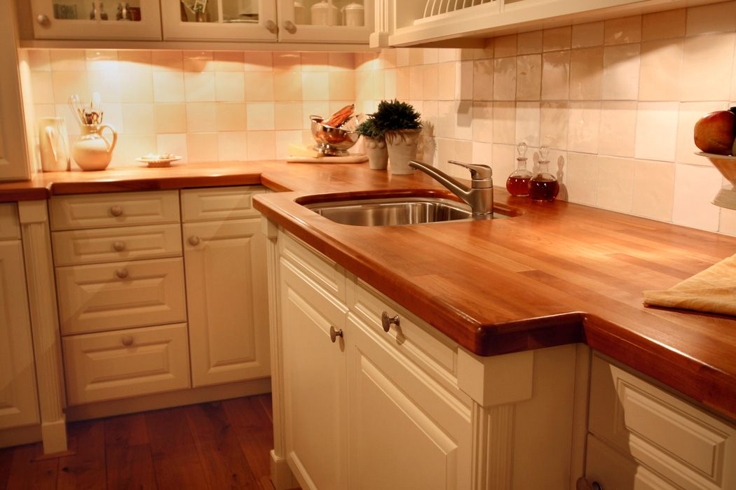 Ikea Wood Kitchen Countertops butcher block countertops | cherry countertop with undermount sink