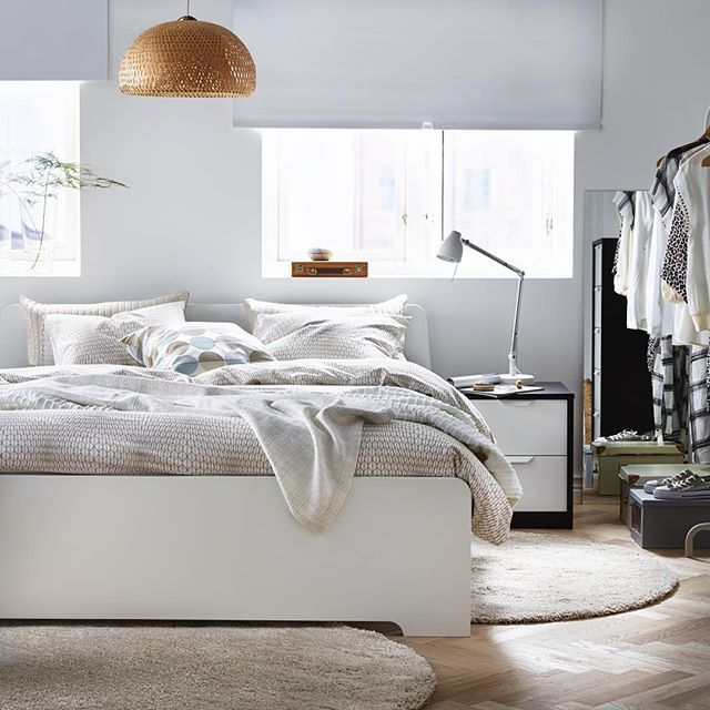 Because Waking Up Should Always Look Feel As Good As It Does In This Askvoll Bed By Ikeau Designs De Quarto Projeto De Interior Do Quarto Moveis Para Quarto