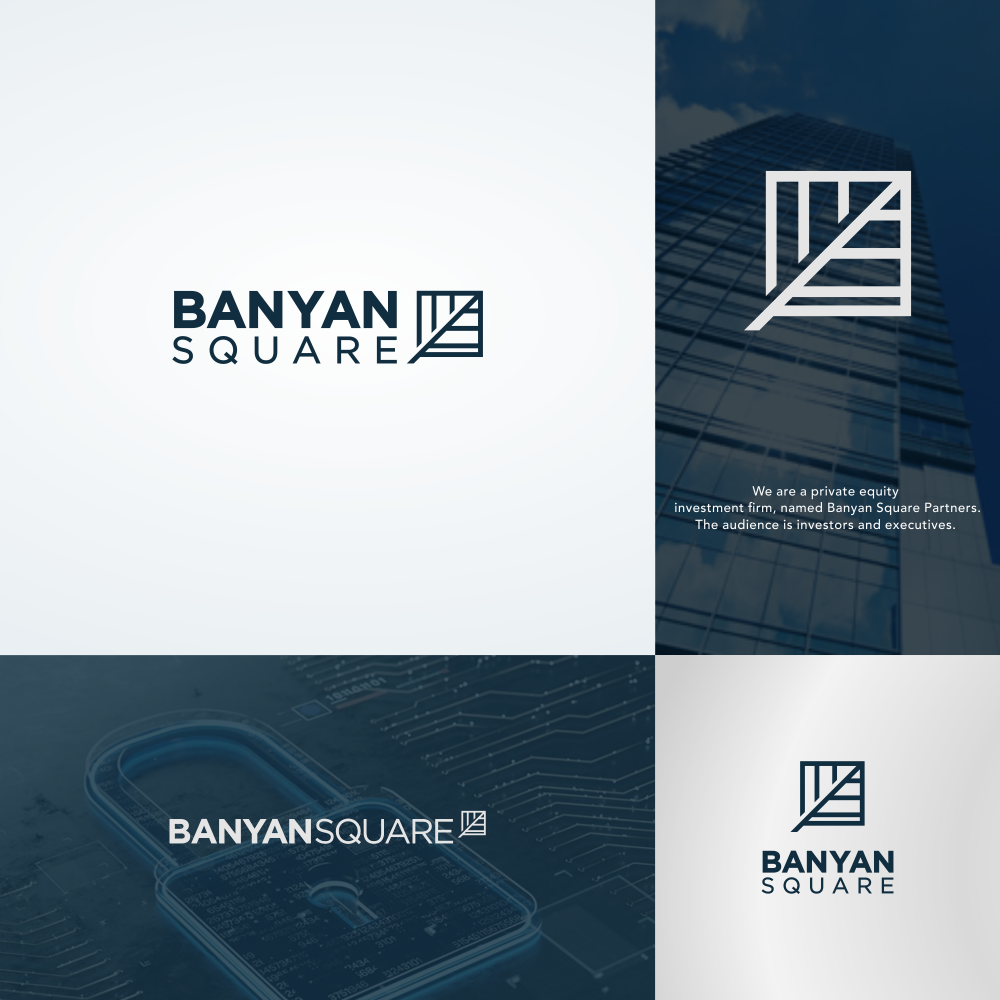Design 209 By Vanza Logo For Investment Firm Banyan Square Partners Branding Design Logo Logo Design Investment Firms
