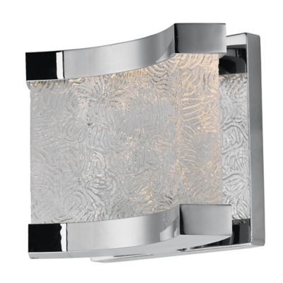 Maxim Lighting Curl Led 2 Light Wall Mount Vanity Light In Polished Chrome With Glass Shade Products In 2019 Led Bathroom Vanity Lights Vanity Lighting Maxim Lighting