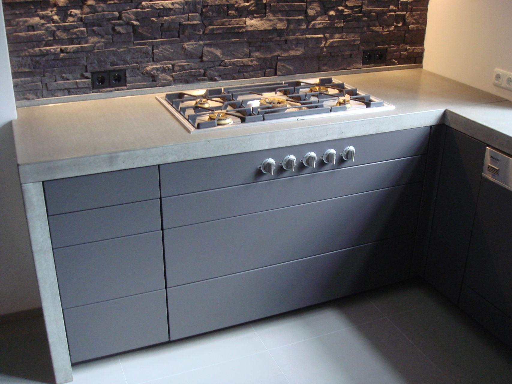 Harr Beton Design Küche Kaffeemühle