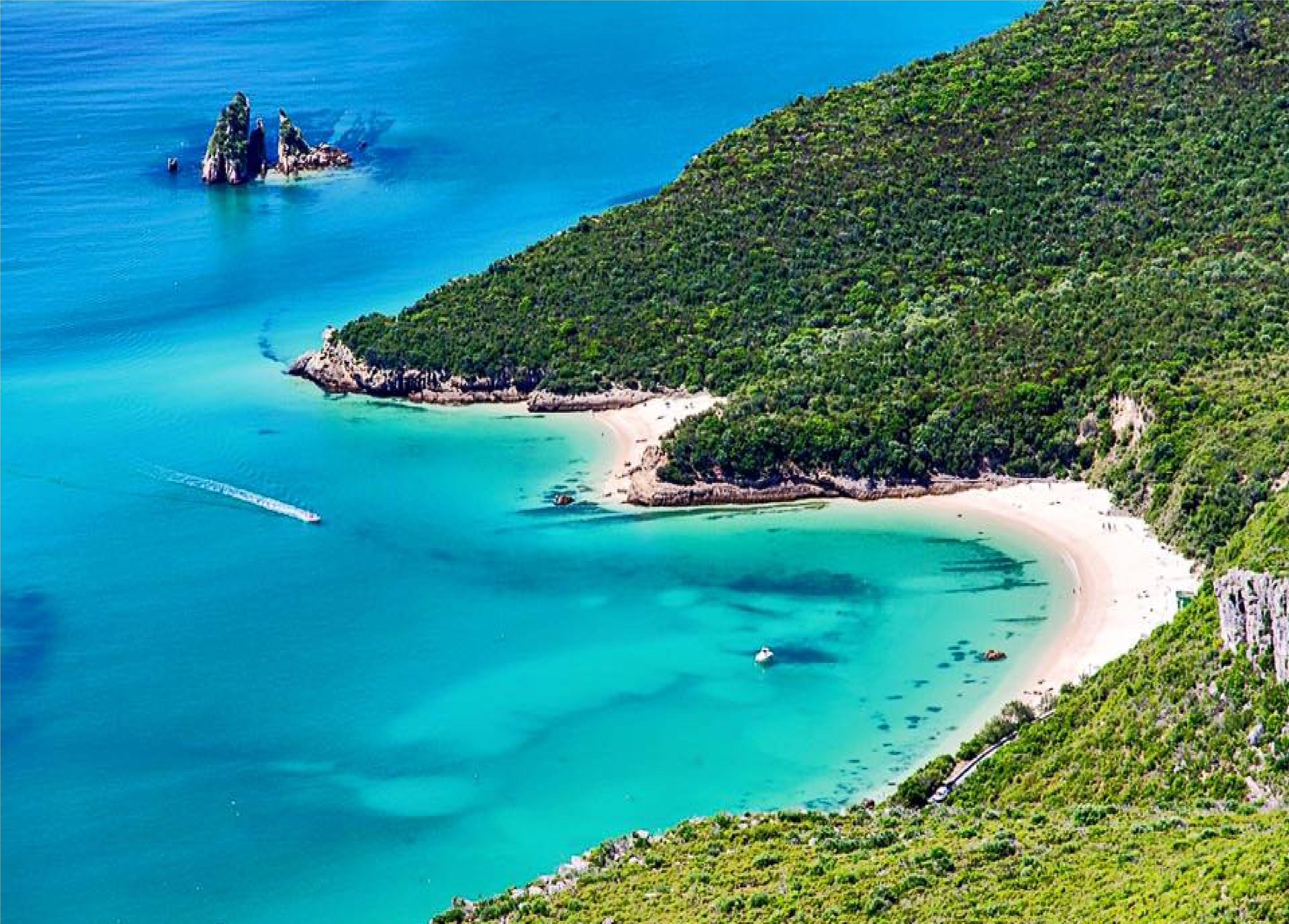 Praia de galapos set bal arr bida by praia de galapos - Natura portugal ...