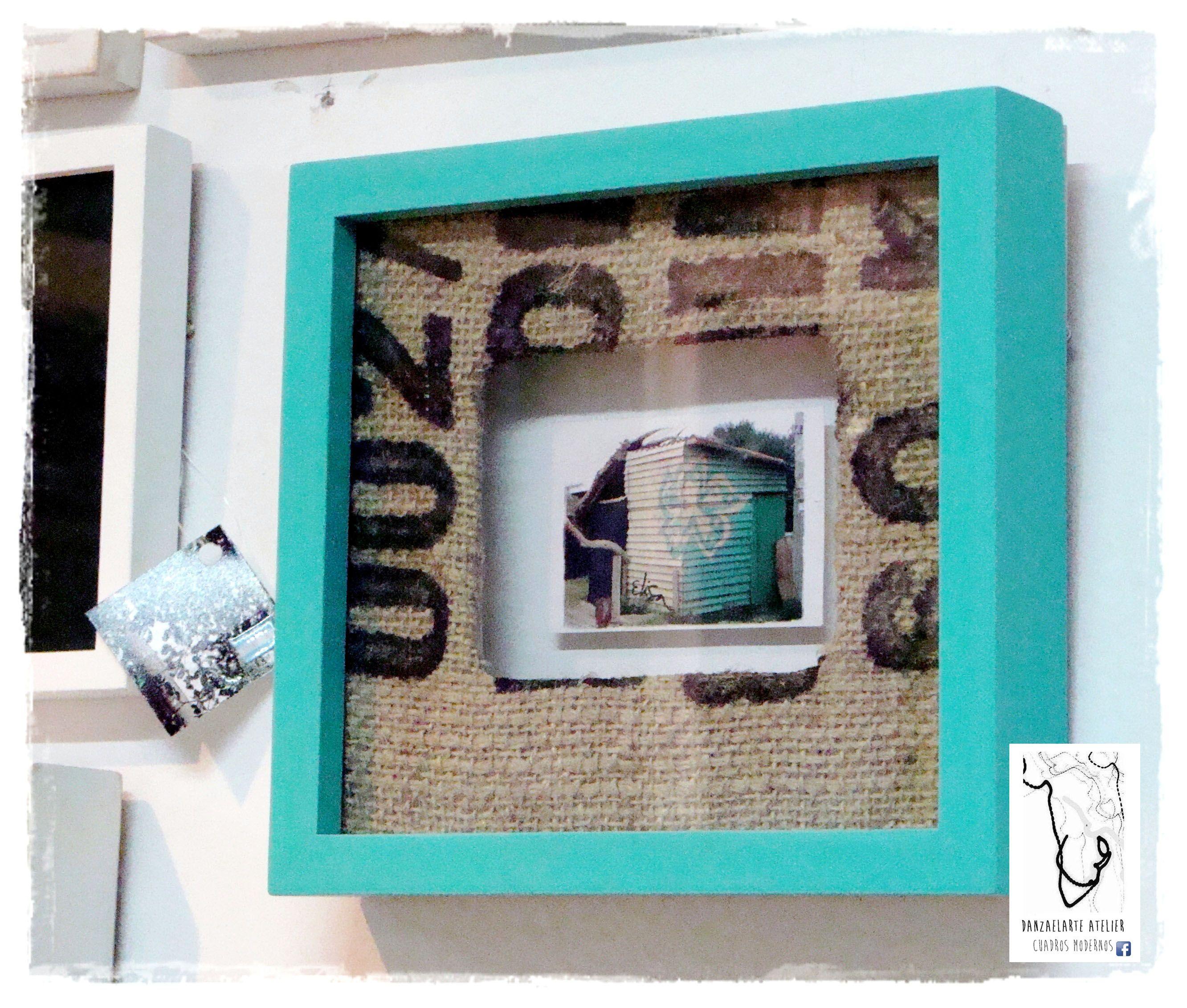 Fotografía original firmada de 5x7 cm al fondo (elevada), vidrio ...