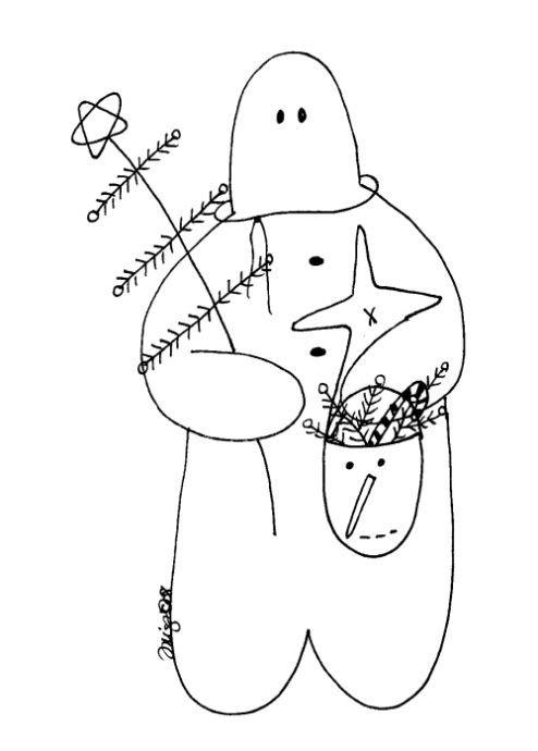 Free Gingerbread Man Pattern