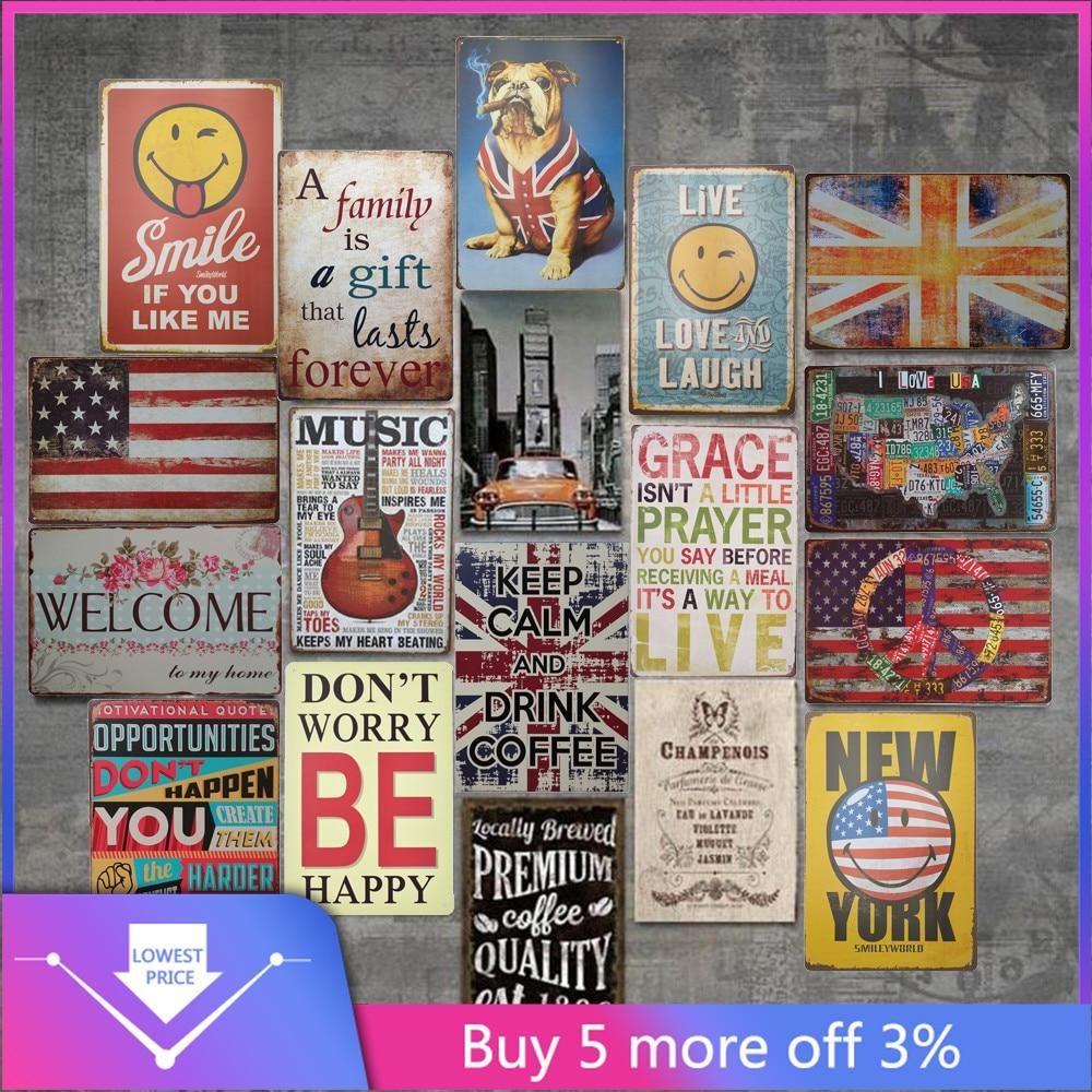 Retro Metal Tin Sign Poster Plaque Bar Pub Club Cafe Home Plate Wall Decor  !