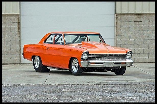 1967 Chevrolet Nova Pro Street 427 500 Hp Automatic Mecumindy