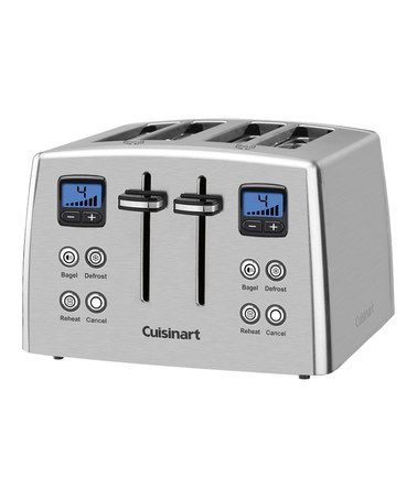 Look What I Found On Zulily Silver Digital Compact Toaster By Cuisinart Zulilyfinds Stainless Steel Toaster Toaster Countertop Oven