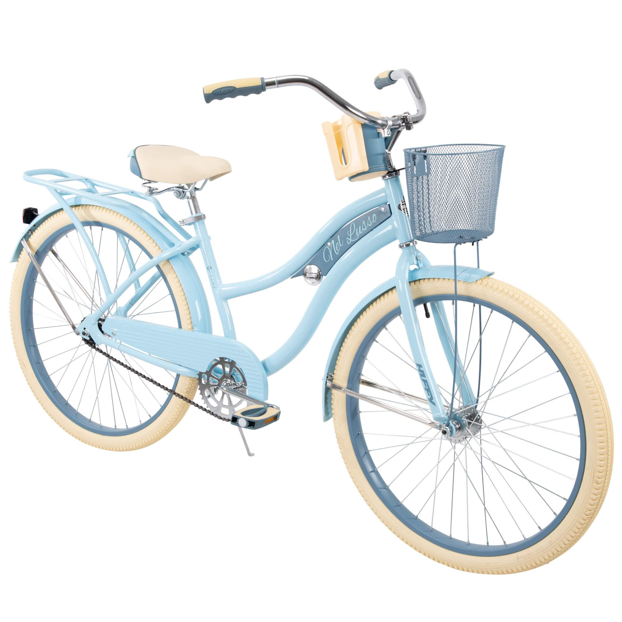 Huffy 26 nel lusso womens classic cruiser bike with