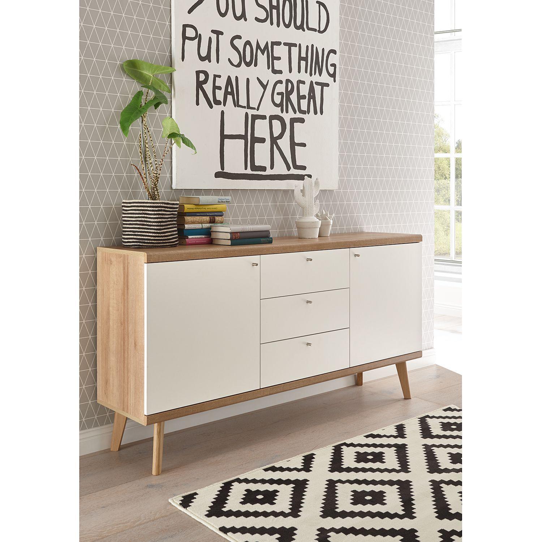 Sideboard Gyland Speisezimmereinrichtung Wohnzimmer Sideboard Skandinavisches Design