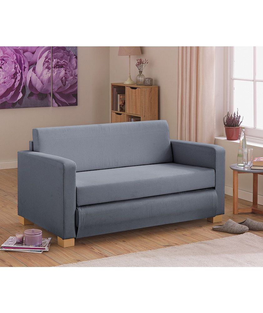 Buy Argos Home Lucy 2 Seater Fabric Sofa Bed Grey Sofa Beds