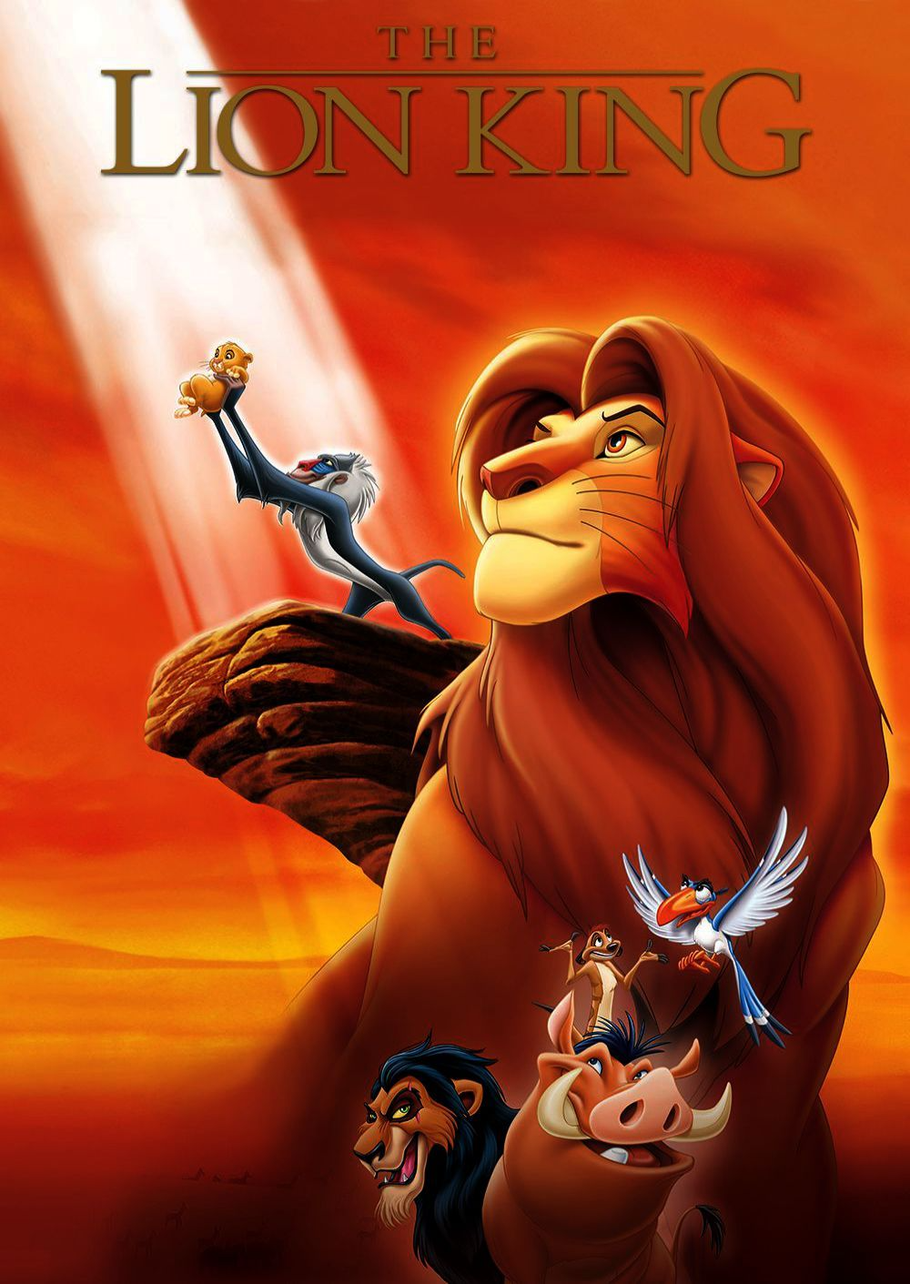 The Lion King Movie Poster - POP CULTURE POSTERS