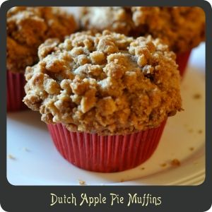 Recipe—Dutch Apple Pie Muffins
