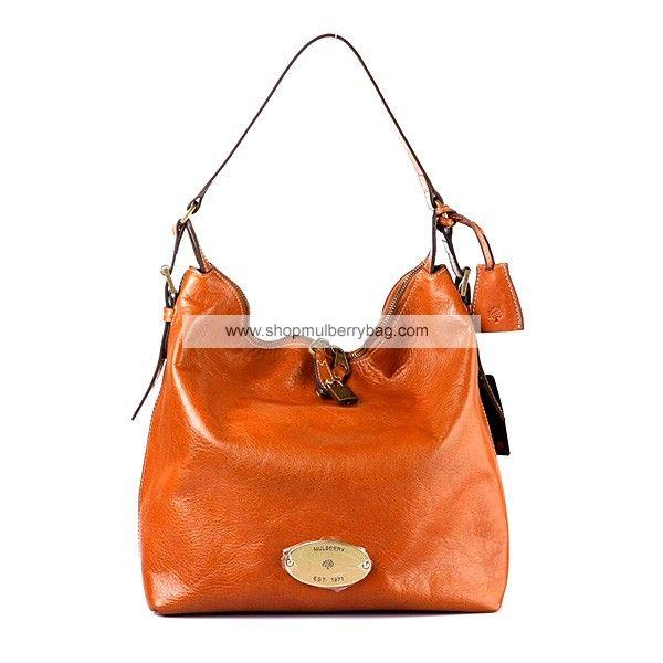 9d31cd645c Mulberry Women s Bella Leather Hobo Shoulder Bag Light Coffee ...
