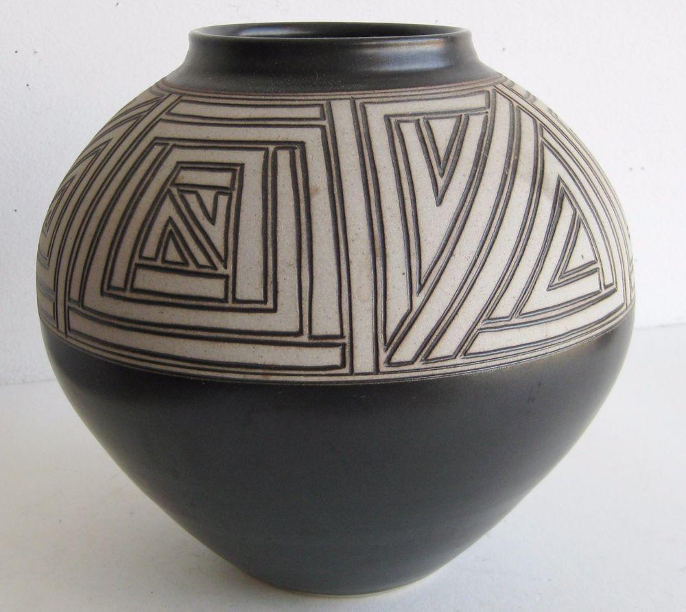 Vtg california artist mark blumenfeld studio pottery art vase pot vtg california artist mark blumenfeld studio pottery art vase pot signed reviewsmspy