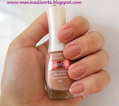 Esmalte discreto poder da Beauty color
