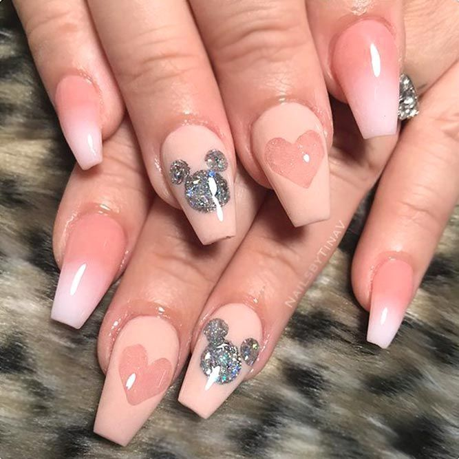 Inspiring Disney Nails Ideas For You To Try | Mickey nails ...