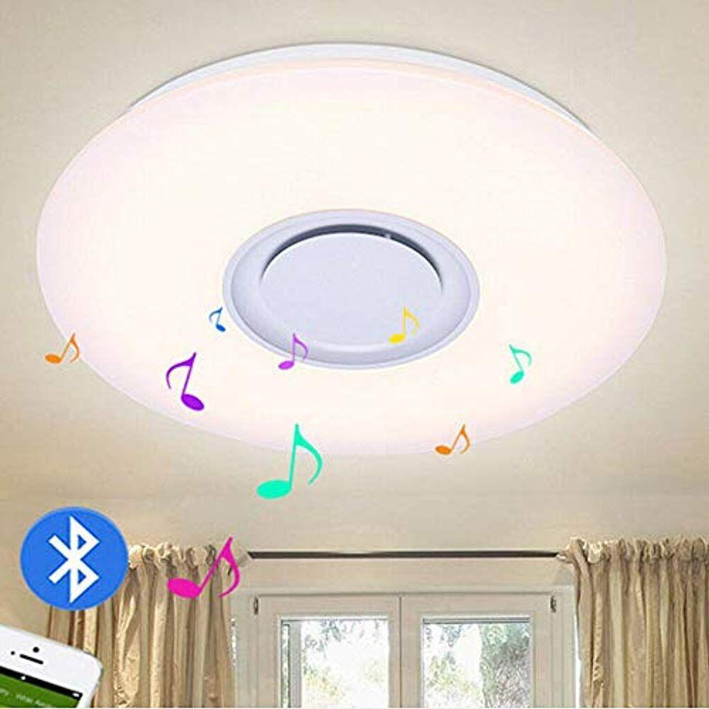 Lautsprecher Wohnzimmer In 2020 Led Deckenleuchte Led Licht Beleuchtung Wohnzimmer