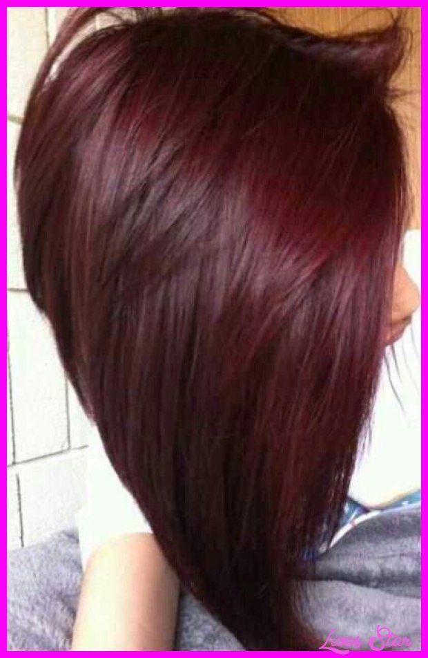 nice auburn red hair color chart