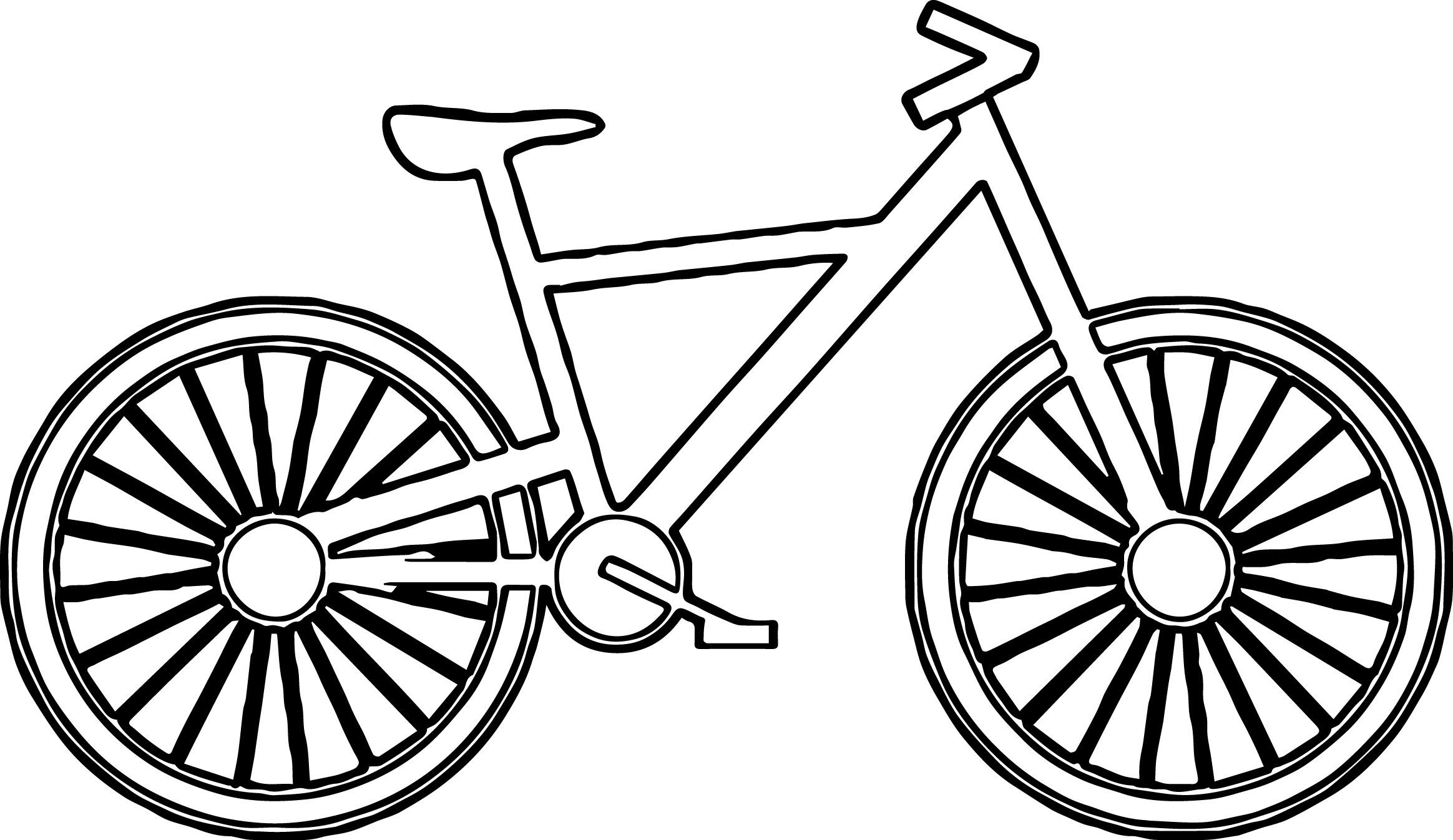 The Truth About Bike Coloring Pages Confidential Bicycle Preschool