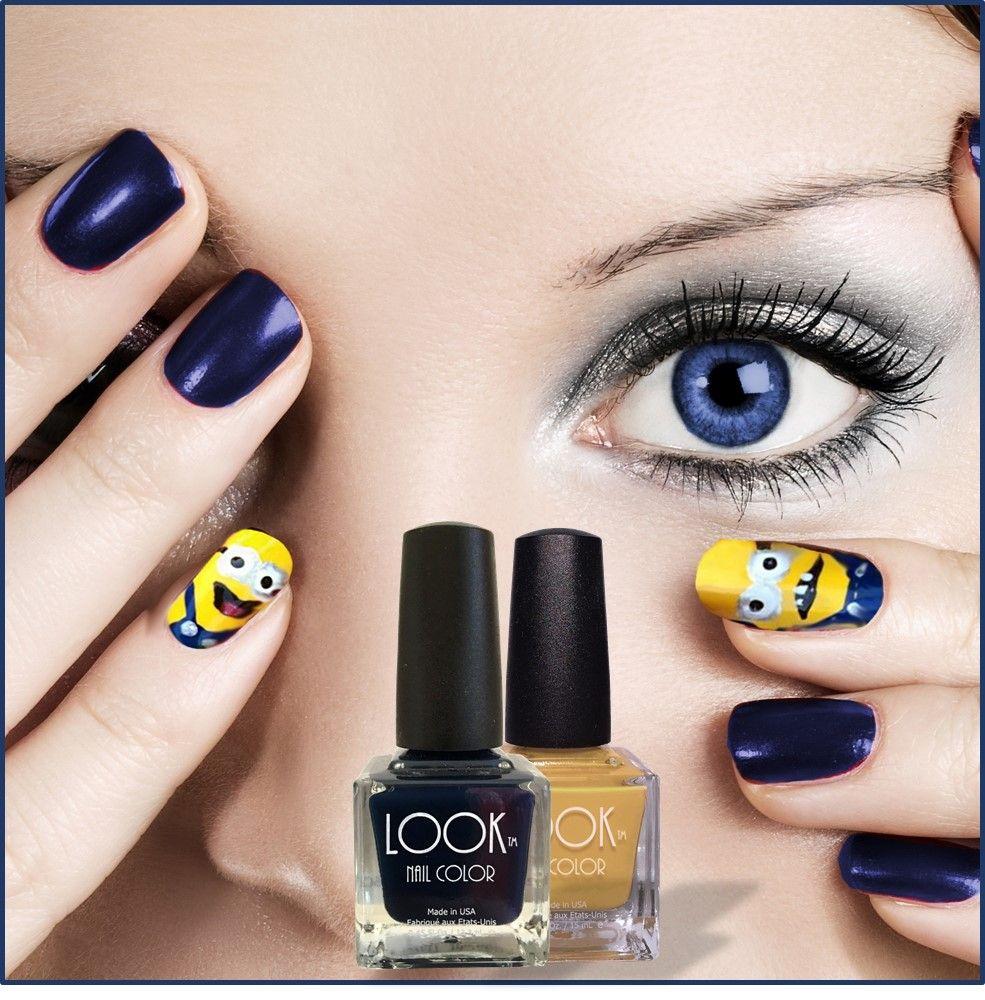 Fun DIY minion nail art design! | Best nails community board ...