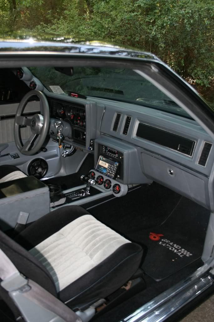 Interior passenger side shot of my 1986 buick grand - 1987 buick grand national interior ...