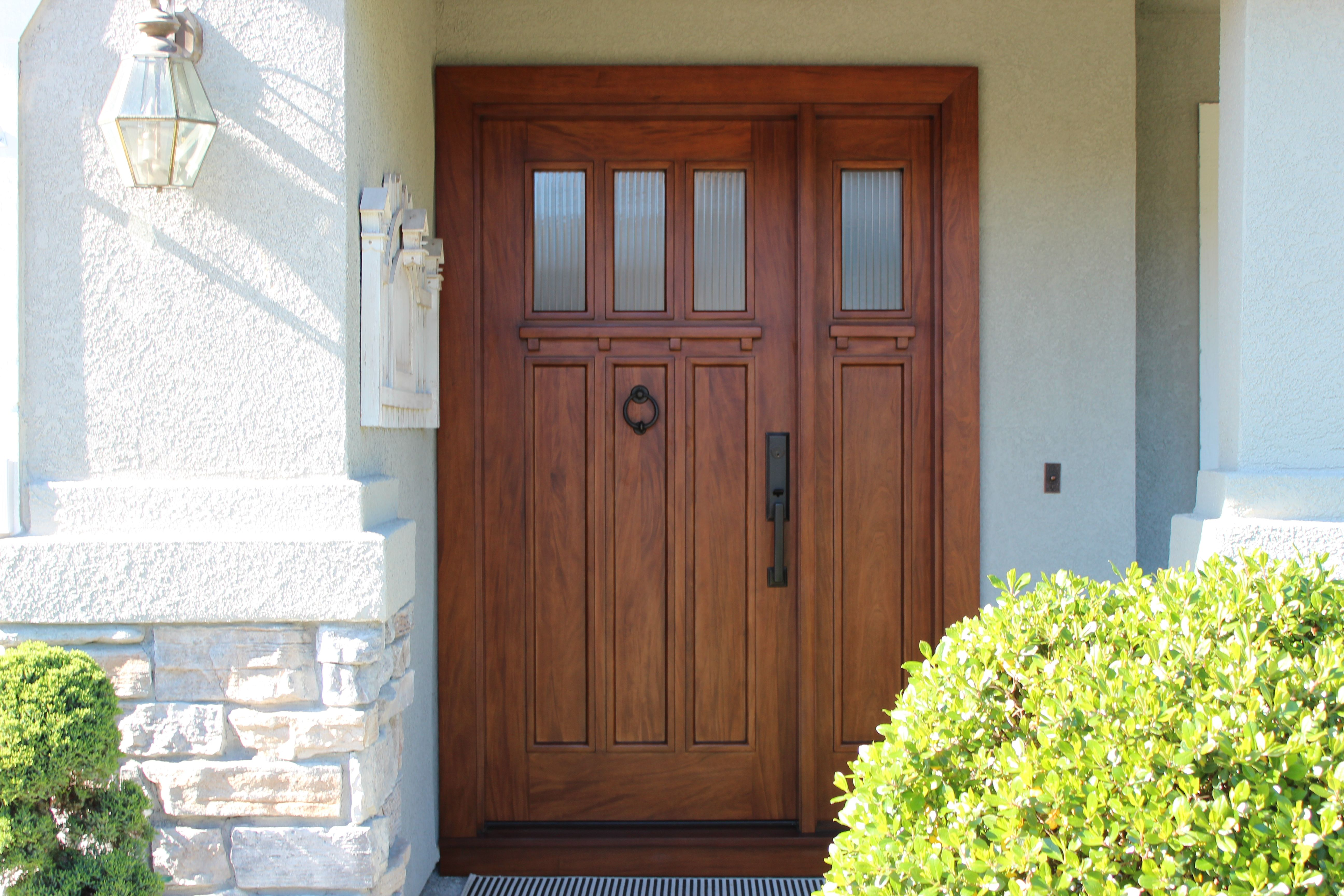 Craftsman Exterior Door
