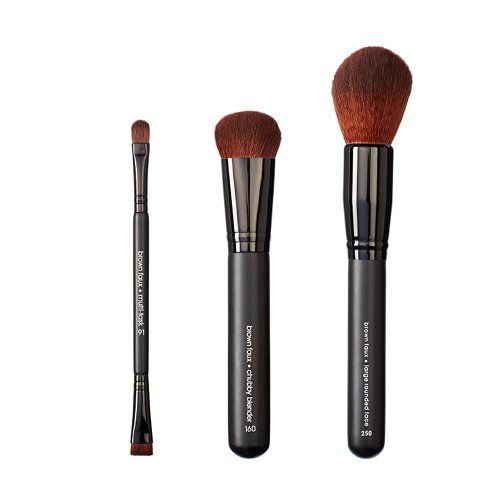 VEGAN LOVE Multi Task Chubby Blender and Large Rounded Face Brush Set >>> See this great product.