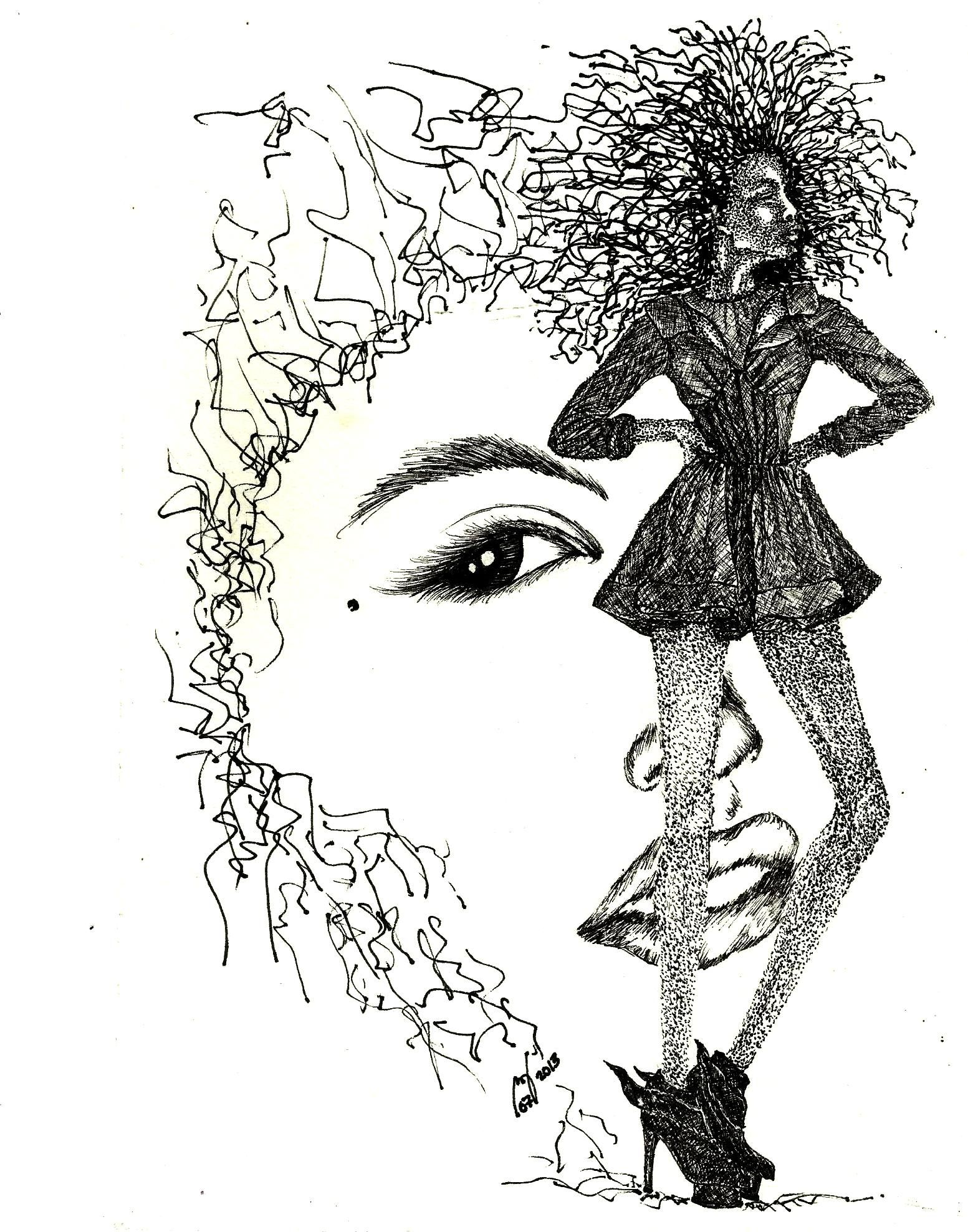 Stippling Scribbling Hatching Cross Hatching All For Fashion