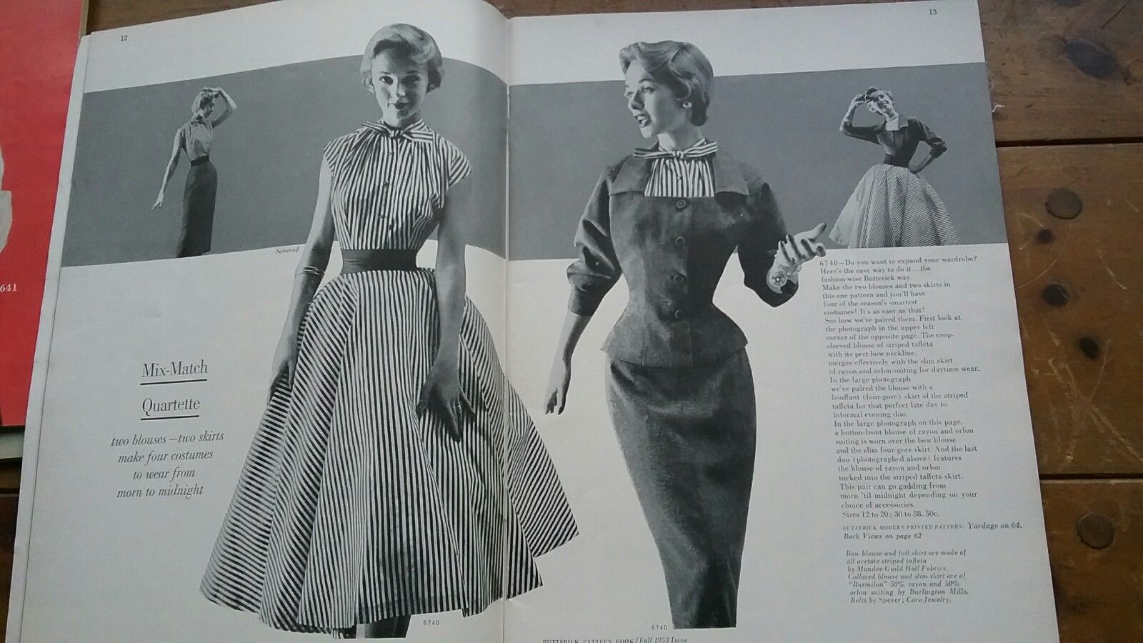 on clothing patterns vintage Books