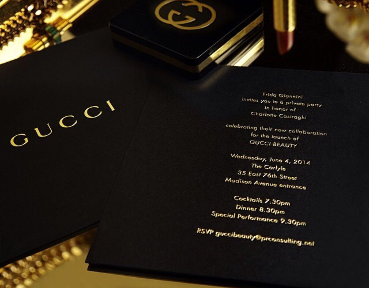 Gucci, Invitations