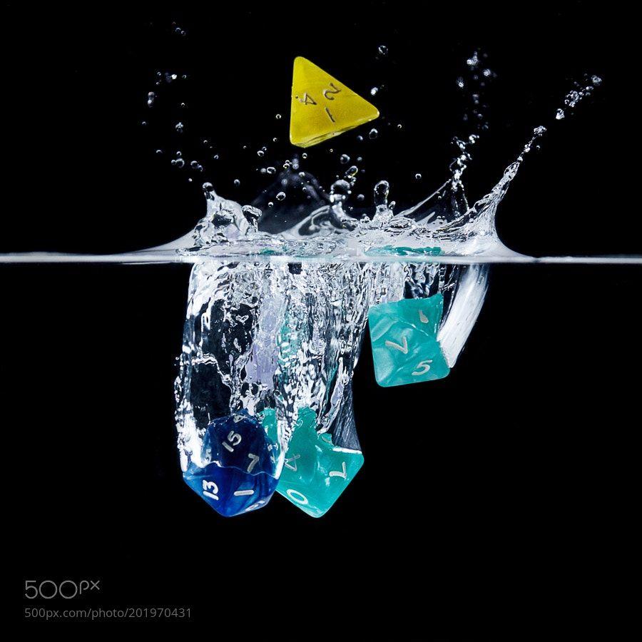 Float the dice by ArjanVandeLogt