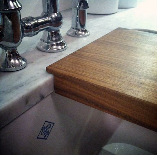 Tips On Getting An Integrated Cutting Board For Your Sink Small Space  Living | The Kitchn
