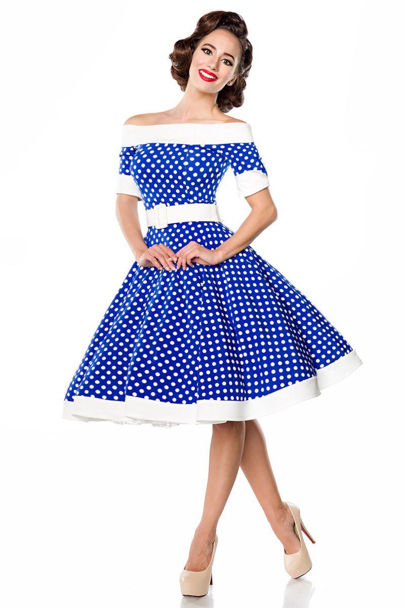 belsira kleid mandy | vintage kleider, swing kleid, 50er