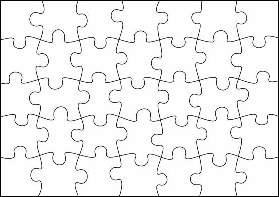 puzzle template to create your own puzzles more sizes on site