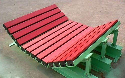 conveyor belt buffer bed
