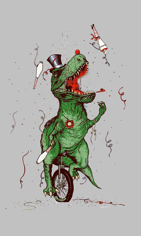 Funny Dinosaur Picture Wallpaper iPhone Figuras