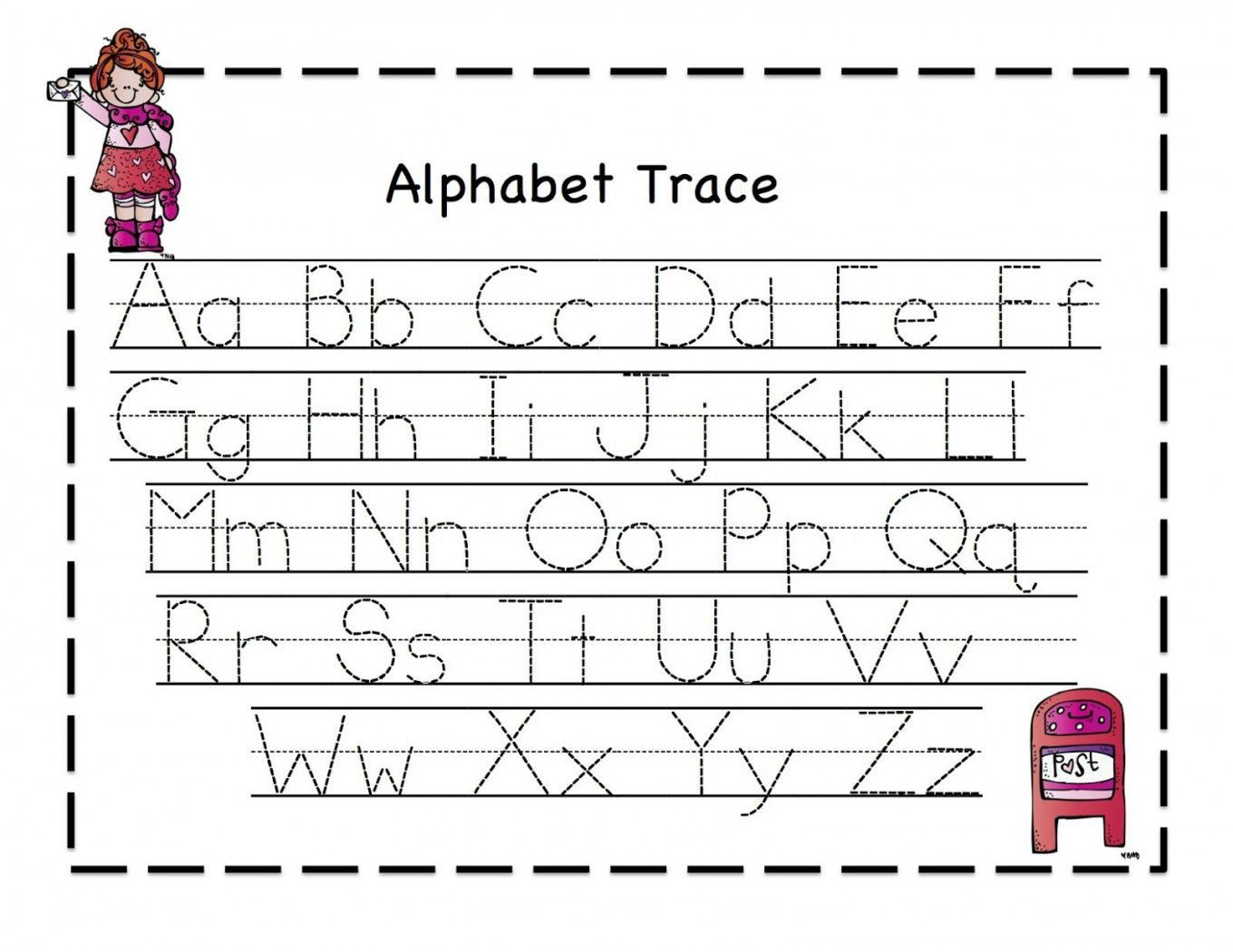 Alphabet Tracing Worksheets Pdf With Images Alphabet Tracing