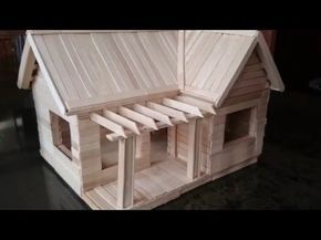 My First Popsicle Stick House