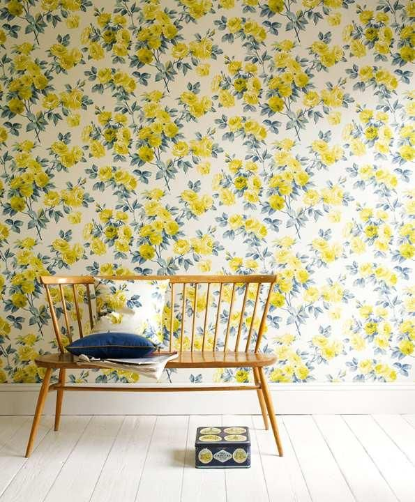 """""""I'm getting really fond of the room in spite of the wallpaper. Perhaps BECAUSE of the wallpaper."""""""