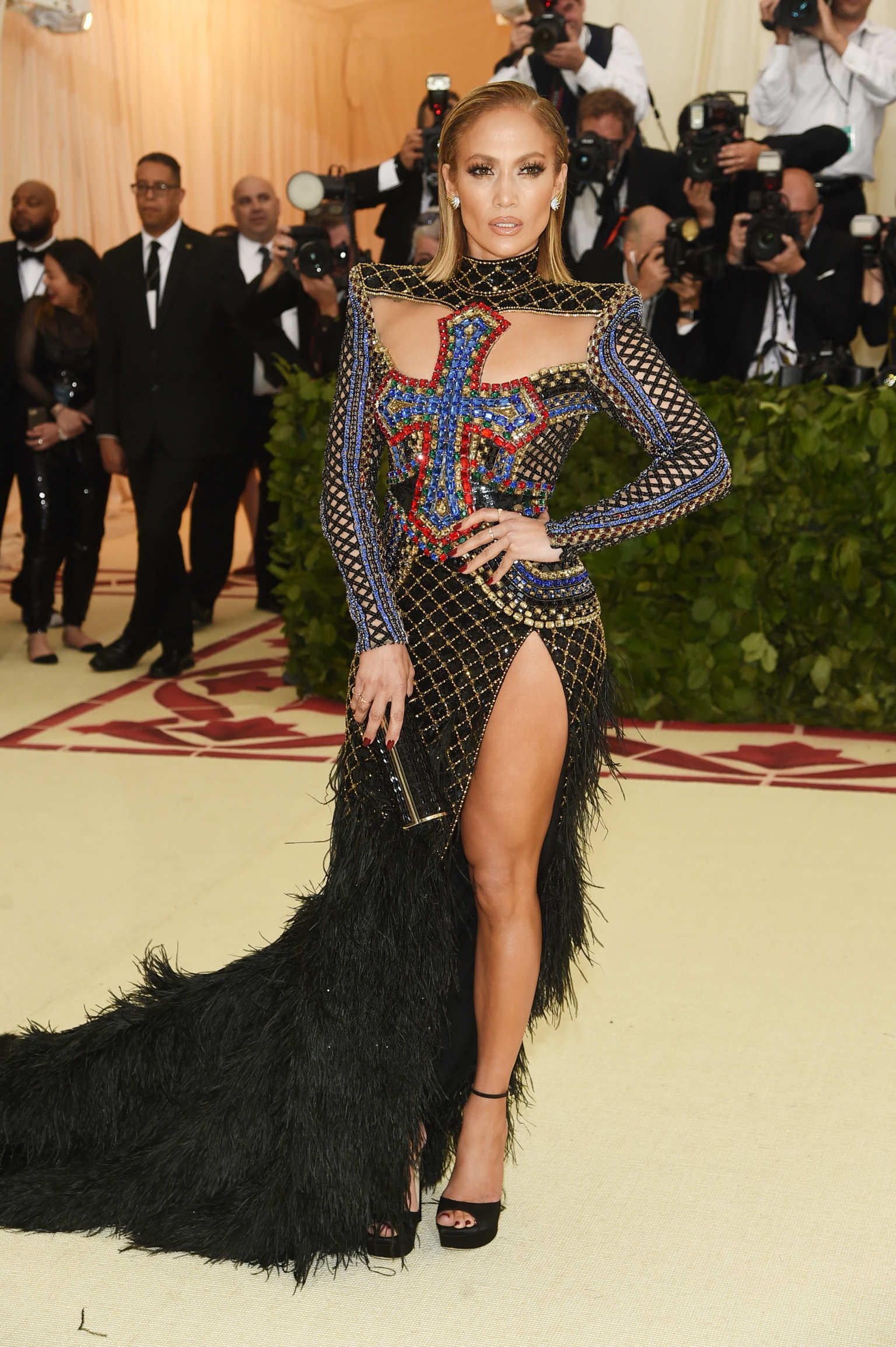 26a9ea41a Every Met Gala 2018 Dress From Red Carpet  Live Updates  Jennifer Lopez