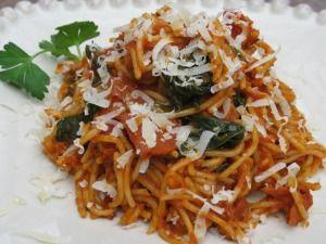 Pepperoni Spaghetti in 15 minutes!