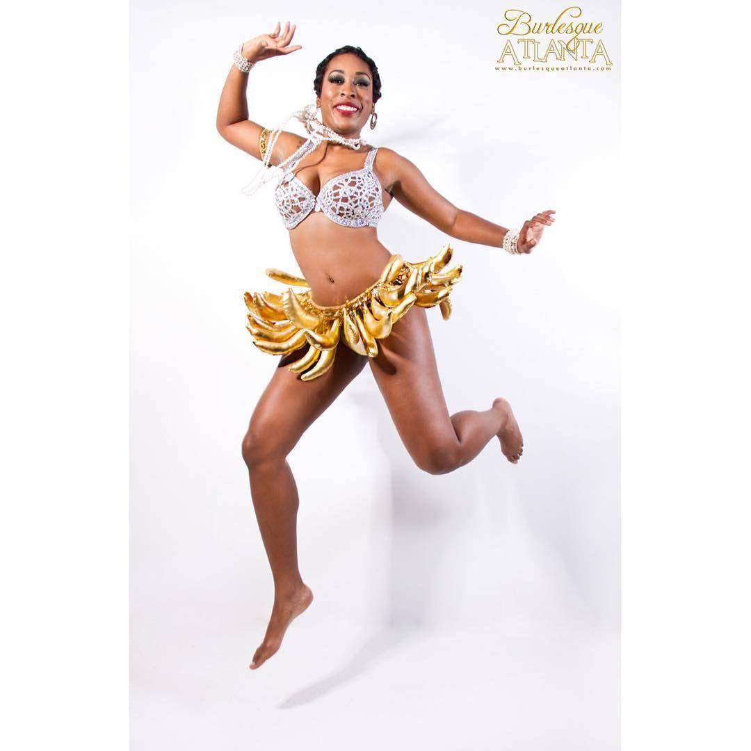 DESTA DEL CARMEN as JOSEPHINE BAKER Banana skirt designed by ...