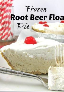 Spending Sunday In Floating Frozen >> Frozen Root Beer Float Pie Spend With Pennies Desserts