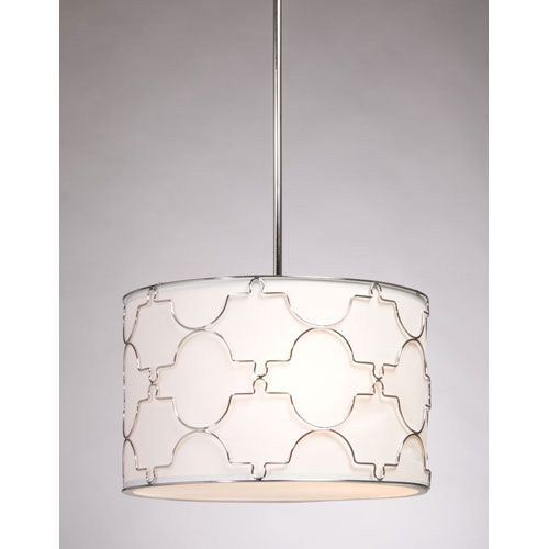 drum pendant lighting. Morocco Chrome Four Light Chandelier Steven Chris Lighting Drum Pendant Ceiling L