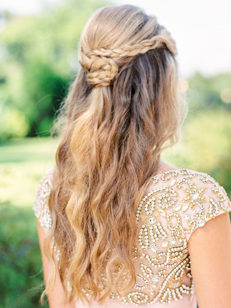 396164294a363 See the prettiest topknots, ponytails, tousled waves and fishtail braids  ever—all right here. Check out these 17 wedding hairstyles we know you'll  love!