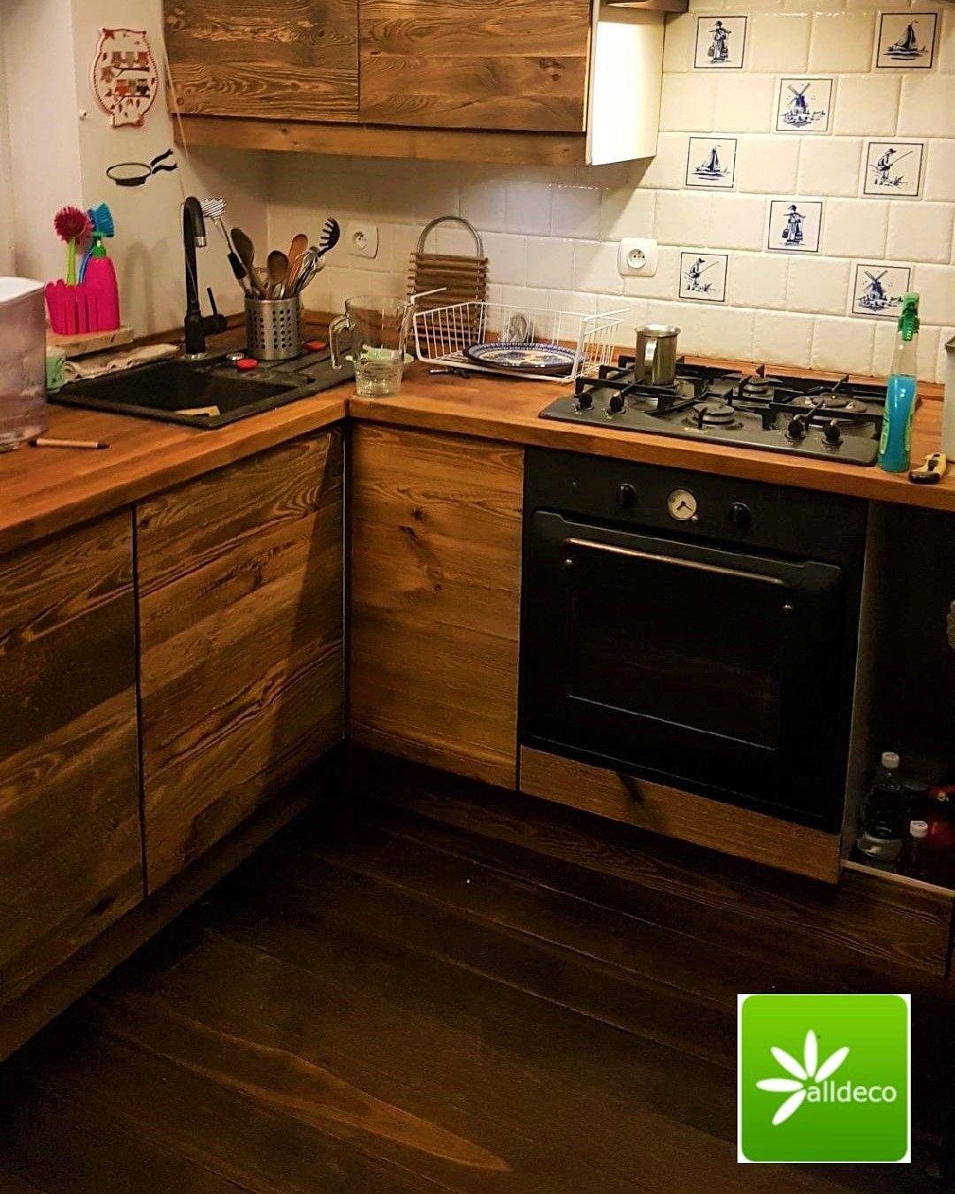 Kuchnia W Starym Drewnie Cuisine En Vieux Bois
