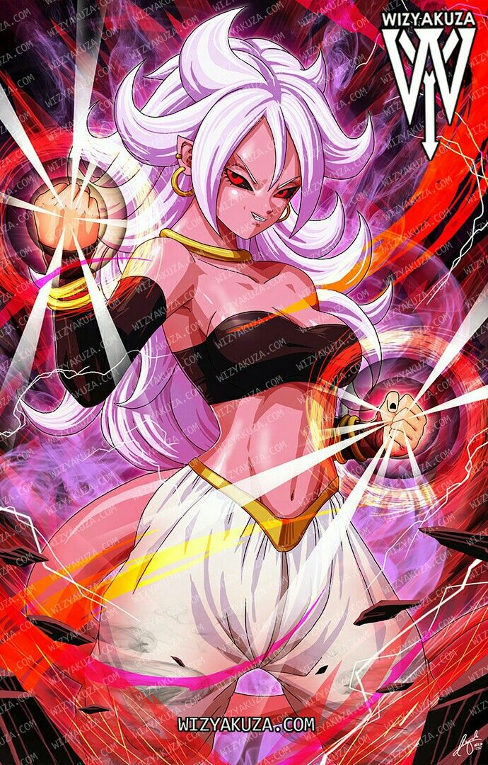 Android 21 by wizyakuza favorites dragon ball dragon - Dbz fantasy anime ...