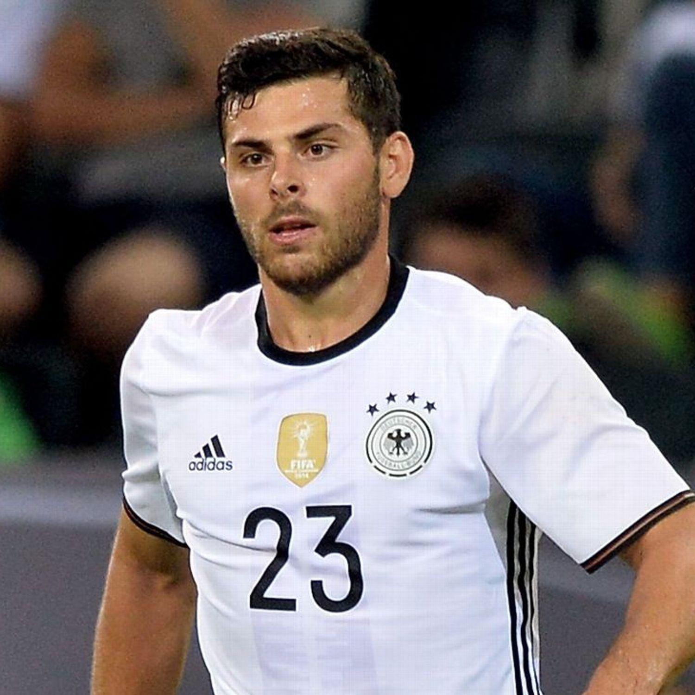 Leverkusen S Kevin Volland Suffers Broken Hand In Germany Friendly Mens Tshirts Mens Tops Men