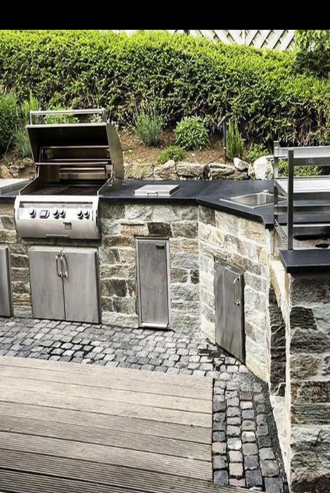 49 Inspiring French Country Garden Decor Ideas In 2020 French Country Garden Decor Outdoor Kitchen Patio Outdoor Kitchen