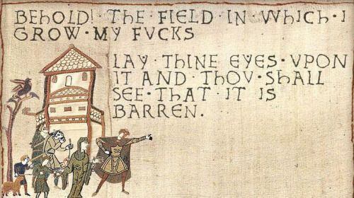 Behold The Field In Which I Grow My F Ks Lay Thine Eyes Upon It